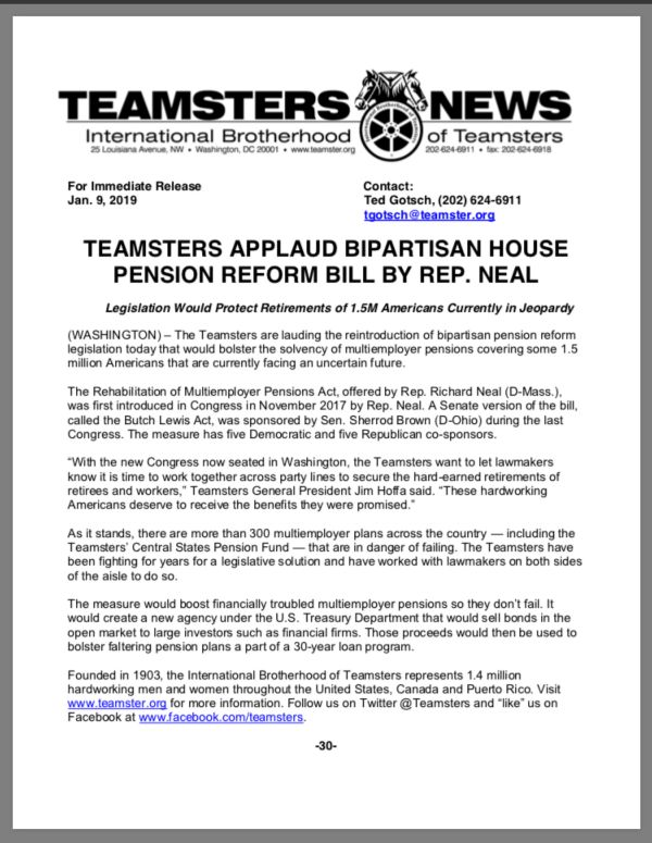 Teamsters Local 414